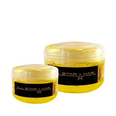Gels jaune fixation forte - ALL STAR HAIR