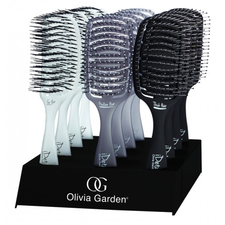 Présentoir brosses IDetangle OLIVIA GARDEN