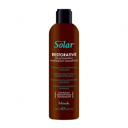 Solar Restorative Rejuvenating Hair & Body Shampoo 250ml