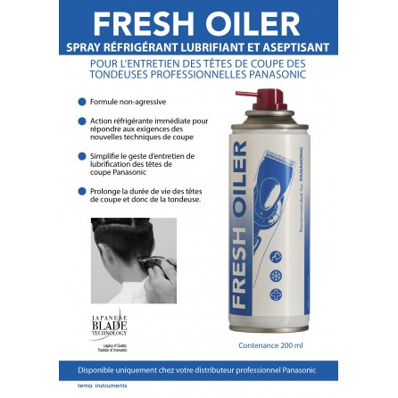 Spray d'entretien Fresh Oiler